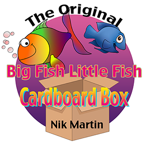 The Original Big Fish Little Fish Song by Nik Martin. Buy Here Now.